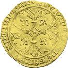 Photo numismatique  ARCHIVES VENTE 2013 -Coll J.R. ROYALES FRANCAISES JEAN II LE BON (22 août 1350-18 avril 1364)  39- Royal d'or de la 1ère émission (22 août 1358).