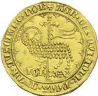 Photo numismatique  ARCHIVES VENTE 2013 -Coll J.R. ROYALES FRANCAISES JEAN II LE BON (22 août 1350-18 avril 1364)  38- Mouton d'or (17 janvier 1355).