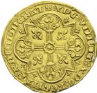 Photo numismatique  ARCHIVES VENTE 2013 -Coll J.R. ROYALES FRANCAISES JEAN II LE BON (22 août 1350-18 avril 1364)   37- Mouton d'or (17 janvier 1355).