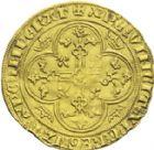 Photo numismatique  ARCHIVES VENTE 2013 -Coll J.R. ROYALES FRANCAISES PHILIPPE VI DE VALOIS(1er avril 1328-22 août 1350)  34- Ange d'or de la 2ème émission (8 août 1341).