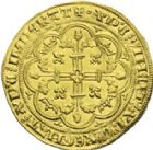 Photo numismatique  ARCHIVES VENTE 2013 -Coll J.R. ROYALES FRANCAISES PHILIPPE VI DE VALOIS(1er avril 1328-22 août 1350)  32- Couronne d'or (29 janvier 1340).