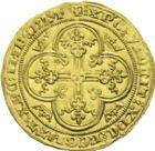 Photo numismatique  ARCHIVES VENTE 2013 -Coll J.R. ROYALES FRANCAISES PHILIPPE VI DE VALOIS(1er avril 1328-22 août 1350)  30- Lion d'or (31 octobre 1338).