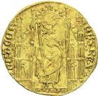 Photo numismatique  ARCHIVES VENTE 2013 -Coll J.R. ROYALES FRANCAISES PHILIPPE VI DE VALOIS(1er avril 1328-22 août 1350)  27-  Royal d'or (2 mai 1328).