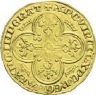 Photo numismatique  ARCHIVES VENTE 2013 -Coll J.R. ROYALES FRANCAISES CHARLES IV LE BEL (3 janvier 1322–1er février 1328)  26- Royal d'or (16 février 1326).