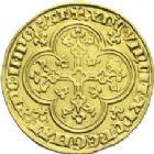 Photo numismatique  ARCHIVES VENTE 2013 -Coll J.R. ROYALES FRANCAISES LOUIS X le Hutin (1314-1316)  23- Agnel d'or (6 mai 1315).