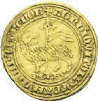 Photo numismatique  ARCHIVES VENTE 2013 -Coll J.R. ROYALES FRANCAISES PHILIPPE IV LE BEL (5 octobre 1285-30 novembre 1314)  22- Agnel d'or (26 janvier 1311).