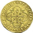 Photo numismatique  ARCHIVES VENTE 2013 -Coll J.R. ROYALES FRANCAISES PHILIPPE IV LE BEL (5 octobre 1285-30 novembre 1314)  20- Denier d'or à la masse de la 1ère émission (10 janvier 1296).