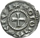Photo numismatique  ARCHIVES VENTE 2013 -Coll J.R. CAROLINGIENS EUDES (888-898)  19- Denier de Toulouse (Haute-Garonne).