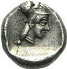 Photo numismatique  MONNAIES GRECE ANTIQUE CORINTHE  Statère archaïque, 549-510.