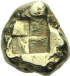 Photo numismatique  MONNAIES VOLEES GRECE ANTIQUE ASIE MINEURE. MYSIE Cyzique (500-450) Statère d'or.