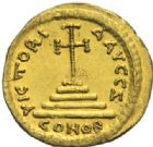 Photo numismatique  MONNAIES EMPIRE BYZANTIN TIBERE CONSTANTIN (578-582)  Solidus.
