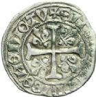 Photo numismatique  MONNAIES ROYALES FRANCAISES CHARLES VII (30 octobre 1422-22 juillet 1461)  Blanc aux trois lis, Tours.