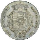Photo numismatique  MONNAIES MONNAIES DU MONDE ITALIE TOSCANE, Léopold II de Lorraine (1824-1859) Francescone, Florence 1834.