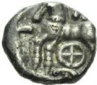 Photo numismatique  MONNAIES GAULE - CELTES LINGONES (région de Langres)  Drachme de Kaletedoy.