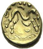 Photo numismatique  MONNAIES IBERIE- GAULE - CELTES AMBIANI (Bassin de la Somme)  Statère de la variété 2.