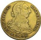 Photo numismatique  MONNAIES MONNAIES DU MONDE ESPAGNE CHARLES III (1759-1788) 4 escudos, Séville 1787.