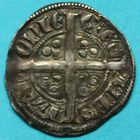 Photo numismatique  MONNAIES BARONNIALES Comté de HAINAUT GUILLAUME Ier (1304-1337) Esterlin à l'escielette de Valenciennes.
