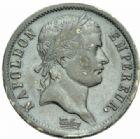 Photo numismatique  MONNAIES MODERNES FRANÇAISES NAPOLEON Ier, empereur (18 mai 1804- 6 avril 1814)  2 francs, Paris 1808.