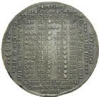 Photo numismatique  MEDAILLES MONNAIES DU MONDE BELGIQUE  Médaille calendrier, année 1779.