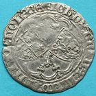 Photo numismatique  MONNAIES BARONNIALES Comté de HAINAUT JEAN IV de Brabant (1418-1427) Double gros drielander.