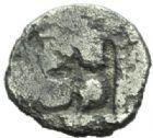 Photo numismatique  MONNAIES GAULE - CELTES TRESOR D'AURIOL  Hémiobole milésiaque (475-465).