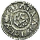 Photo numismatique  MONNAIES CAROLINGIENS CHARLES LE CHAUVE, roi (840-875)  Obole de Rouen, après 864.