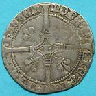 Photo numismatique  MONNAIES BARONNIALES Evêché de LIEGE LOUIS de BOURBON (1456-1482) Blanc à l'L.
