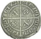 Photo numismatique  MONNAIES BARONNIALES Duché de LORRAINE CHARLES II (1390-1431) Quart de gros.