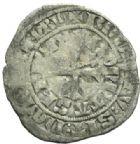 Photo numismatique  MONNAIES BARONNIALES Comté de BAR HENRI IV (1336-1344) Gros à la fleur de lis, Saint-Mihiel.