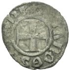 Photo numismatique  MONNAIES MONNAIES DU MONDE ORIENT LATIN EPIRE, Philippe de Tarente (1294-1313) Denier tournois.
