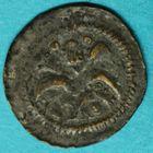 Photo numismatique  MONNAIES BARONNIALES Flandre - ville de DOUAI (1220-1253) Maille ou petit denier.