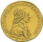 Photo numismatique  MONNAIES MONNAIES DU MONDE AUTRICHE SALZBOURG, Hiéronyme (1772-1803) Ducat, 1777.