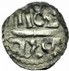 Photo numismatique  MONNAIES CAROLINGIENS CHARLEMAGNE, roi (768-800) empereur (800-814) Premier type (768 - avant 793/794) Denier de Melle.