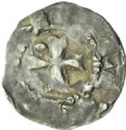 Photo numismatique  MONNAIES BARONNIALES Comté de BAR (XIe-XIIe siècles) Denier.