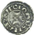 Photo numismatique  MONNAIES BARONNIALES Comté de LA MARCHE HUGUES XI (1249-1260) Obole.