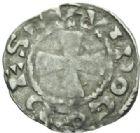 Photo numismatique  MONNAIES BARONNIALES Comté de PONTHIEU GUI Ier (1053-1100) Denier d'Abbeville. .