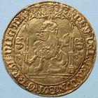 Photo numismatique  MONNAIES BARONNIALES Duché de BRABANT PHILIPPE le BON (1430-1467)  Lion d'or frappé à Malines.