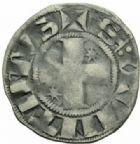 Photo numismatique  MONNAIES BARONNIALES Comté de VERMANDOIS ELEONORE (1183-1222) Denier