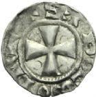 Photo numismatique  MONNAIES BARONNIALES Comté de PONTHIEU GUI Ier (1053-1100) Denier d'Abbeville.
