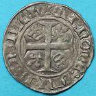 Photo numismatique  MONNAIES BARONNIALES Seigneurie de RUMMEN JEAN de WESEMEL (1345-1364) Blanc imité du guénar.