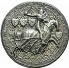 Photo numismatique  MEDAILLES ROYALES FRANCAISES PHILIPPE VI DE VALOIS(1er avril 1328-22 août 1350)  Reproduction du sceau royal.