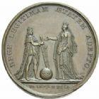 Photo numismatique  MEDAILLES ROYALES FRANCAISES LOUIS XIV (14 mai 1643-1er septembre 1715)  La majorité du roi.