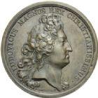 Photo numismatique  MEDAILLES ROYALES FRANCAISES LOUIS XIV et LOUIS XV  Les deux souverains.