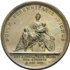 Photo numismatique  MEDAILLES ROYALES FRANCAISES LOUIS XV (1er septembre 1715-10 mai 1774)  Naissance du duc d'Anjou, 1730.