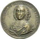 Photo numismatique  MEDAILLES ROYALES FRANCAISES LOUIS XV (1er septembre 1715-10 mai 1774)  Cardinal de Fleury, André Hercule, 1741.