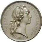 Photo numismatique  MEDAILLES ROYALES FRANCAISES LOUIS XV (1er septembre 1715-10 mai 1774)  Statue équestre du roi à Bordeaux, 1743.