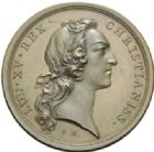 Photo numismatique  MEDAILLES ROYALES FRANCAISES LOUIS XV (1er septembre 1715-10 mai 1774)  Protection aux arts et manufactures, 1749.