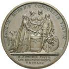 Photo numismatique  MEDAILLES ROYALES FRANCAISES LOUIS XV (1er septembre 1715-10 mai 1774)  Mariage du Dauphin le 16 mai 1770.