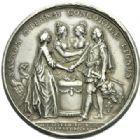 Photo numismatique  MEDAILLES ROYALES FRANCAISES LOUIS XVI (10 mai 1774–21 janvier 1793)  Mariage du dauphin le 16 mai 1770.
