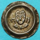 Photo numismatique  MONNAIES MONNAIES DU MONDE ALLEMAGNE AUGSBOURG, évêché, Siboto von Seefeld (1227-1249)  Bractéate.